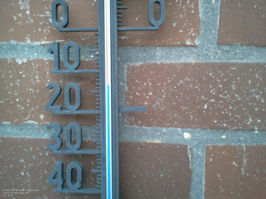 Minus 13 Grad